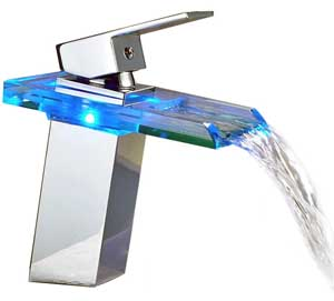 Le migiteur thermostatique cascade, l\'élégance pour le bain ou la vasque