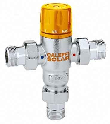 présentation du mitigeur thermostatique solaire CaleFFi 252153