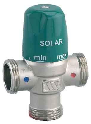 présentation du mitigeur thermostatique solaire Watts MMV-S